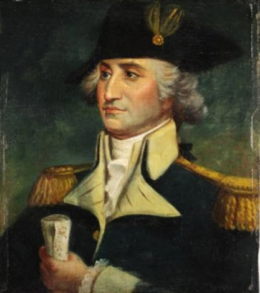 portrait of george washington by john trumbull