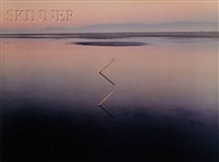 great lake angles, utah (+ great salt lake, utah; 2 works) by john pfahl