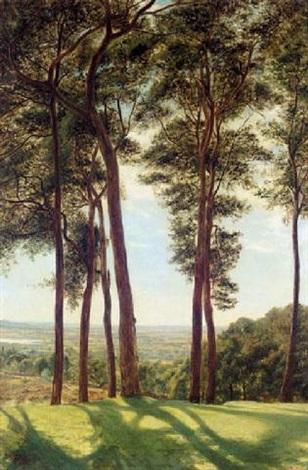 the painters walk, hampstead heath by arthur john herbert