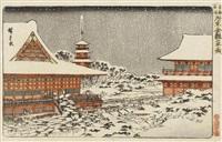 tôto meisho (berühmte ansichten der östlichen hauptstadt) by ando hiroshige