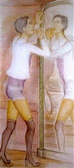 roberte face au miroir by pierre klossowski