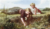 picking lilies by henry lejeune