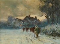 going home by thomas william morley