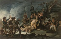 the death of general richard montgomery in the attack of quebec by john trumbull
