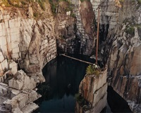 rock of ages # 22, abandoned section, wells-lamson quarry, barre, vermont by edward burtynsky