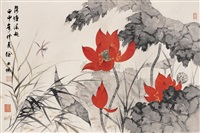 lotus pond by xu shucheng
