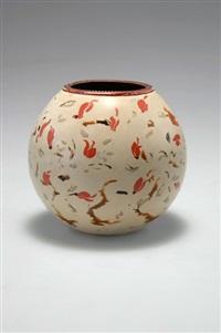 kleine vase by bernard dunand