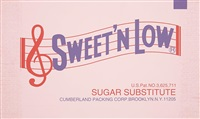 sweet'n low by sylvie fleury