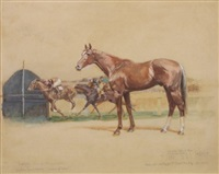 """trafalgar"" winning the randwick plate by martin stainforth"