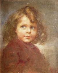 portrait d'enfant by cesare bacchi