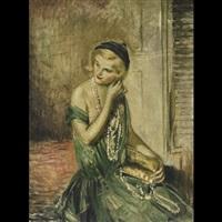 her favorite pearls by lajos márk