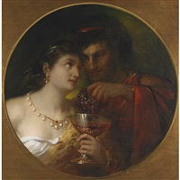 anthony and cleopatra by theodor köppen
