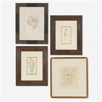 collection of four works (set of 4) by elie nadelman