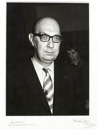 portrait of philip larkin by mark gerson