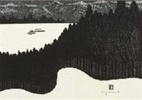 winter in aizu (1) kubo by kiyoshi saito