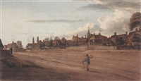 village of cranfield, bedfordshire by thomas fisher