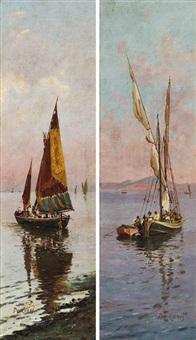boats (pair) by nicolo de corsi