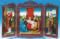 holy family by jean-baptiste anthony