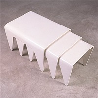 Marcel Breuer. Nesting Tables ...