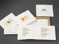 un mare ovale (portfolio w/ txt by salvatore sanne & 6 works) by ermanno leinardi