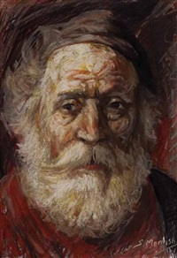 after rembrandt by shahin memishi