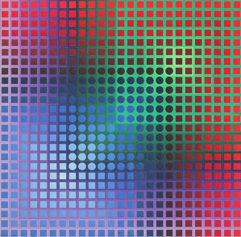 arny c by victor vasarely
