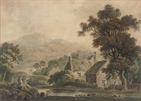 cottages in county wicklow by john henry campbell