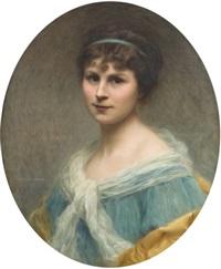 portrait de femme by edouard cabane