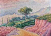paysage by antoine de (comte) la rochefoucauld
