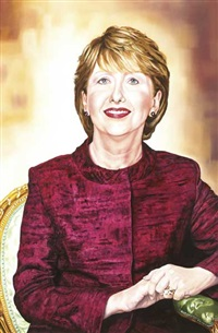 president mary mcaleese by anna kennedy