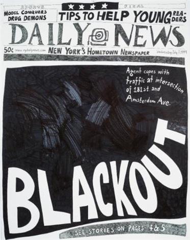blackout (7 july 1999) by aleksandra mir