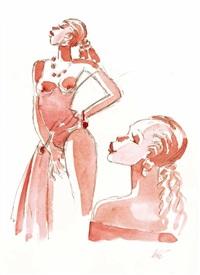 nudo di ragazza by lélé vianello