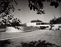 richard neutra, von sternberg house, 1936, northridge, california by julius shulman
