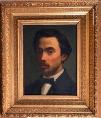 portrait d'un jeune homme by jean paul laurens