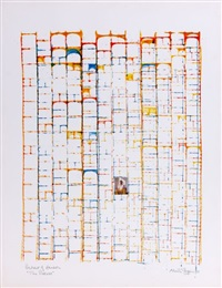 portrait of hansor the process by brion gysin
