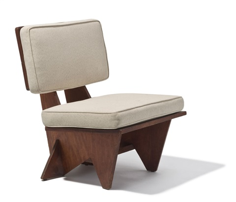 Fine Lounge Chair By Frank Lloyd Wright On Artnet Theyellowbook Wood Chair Design Ideas Theyellowbookinfo