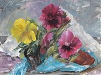 floral still life by leonard appelbee