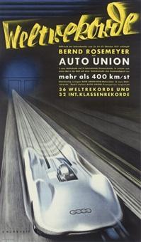 weltrekorde, auto union by victor mundorff