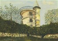 le moulin d'orgemont à argenteuil (val d'oise) by maurice utrillo