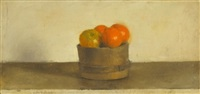 still life and fruit by raffi bader