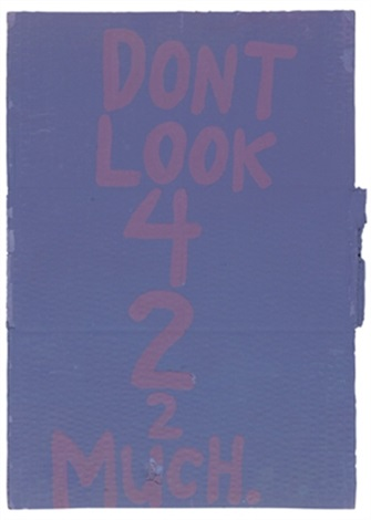 dont look 42 much by cary s leibowitz candyass