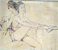 les danseuses by bernard dufour