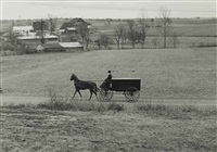 amish funeral, lancaster county by john collier