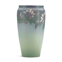 vase with magnolias by lenore asbury