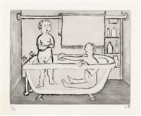 children in tub by louise bourgeois