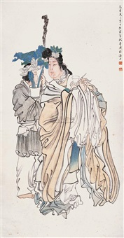 献寿图 (beauties) by ren xia