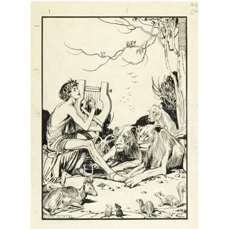 illustrations for tales of old greece various sizes set of 16 by helen jacobs