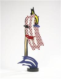 brushstroke head i by roy lichtenstein