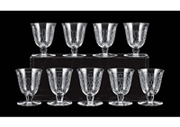 wine glass (set of 9) by baccarat
