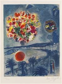 die untergehende sonne by marc chagall